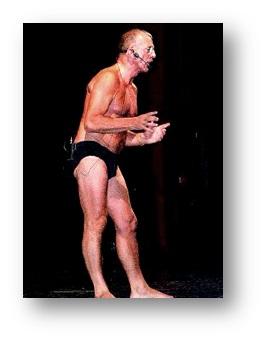 Aldo Busi in mutande
